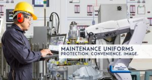 Uniforms and uniform programs for Maintenance Workers