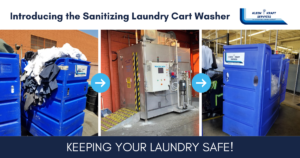 Introducing the Sanitizing Laundry Cart Washer