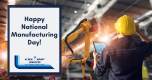Happy National Manufacturing Day!