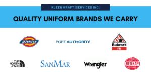 Quality Uniform Brands We Carry Header